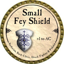 Small Fey Shield - 2010 (Gold)