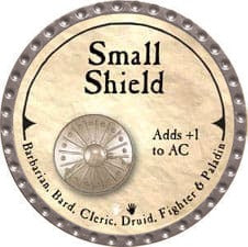 Small Shield - 2007 (Platinum)