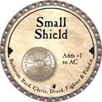 Small Shield - 2008 (Platinum)