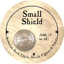 Small Shield - 2005b (Wooden) - C37
