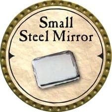 Small Steel Mirror - 2007 (Gold)