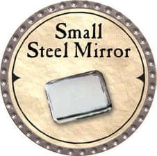 Small Steel Mirror - 2007 (Platinum)