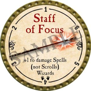 Staff of Focus - 2016 (Gold) - C22