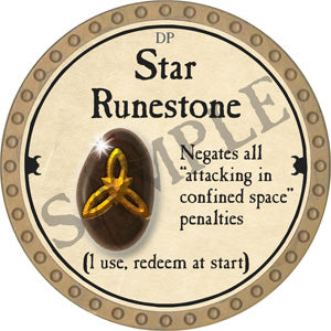 Star Runestone - 2018 (Gold)