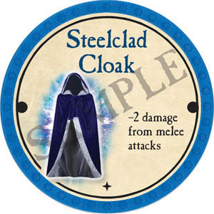Steelclad Cloak - 2017 (Light Blue) - C37