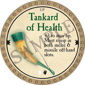 Tankard of Health - 2018 (Gold) - C9