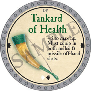 Tankard of Health - 2018 (Platinum)
