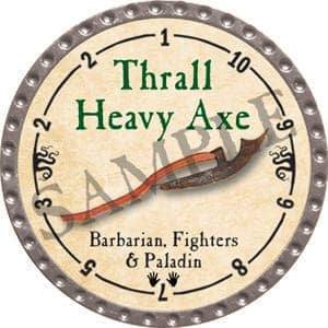 Thrall Heavy Axe - 2016 (Platinum)