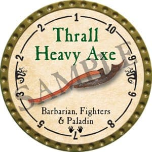 Thrall Heavy Axe - 2016 (Gold)