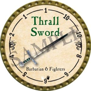 Thrall Sword - 2016 (Gold)