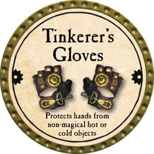 Tinkerer's Gloves - 2013 (Gold)