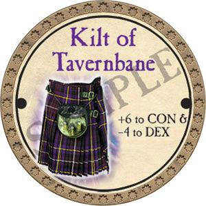 Kilt of Tavernbane - 2017 (Gold) - C25