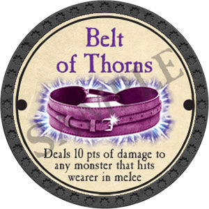 Belt of Thorns - 2017 (Onyx) - C25