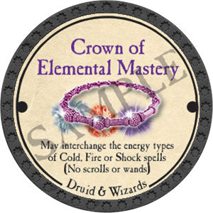 Crown of Elemental Mastery - 2017 (Onyx) - C25
