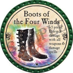 Boots of the Four Winds - 2016 (Green) - C25