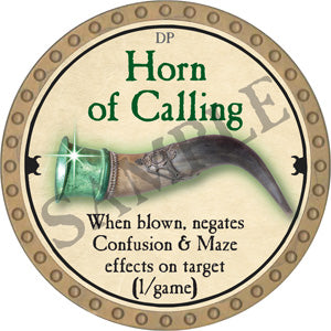 Horn of Calling - 2018 (Gold) - C12