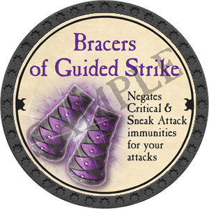 Bracers of Guided Strike - 2018 (Onyx) - C25