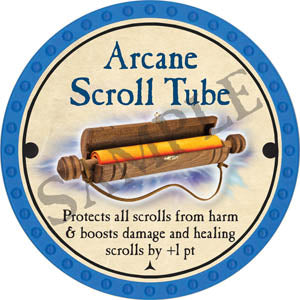 Arcane Scroll Tube - 2017 (Light Blue) - C25