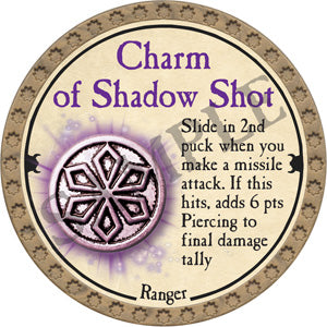 Charm of Shadow Shot - 2018 (Gold) - C25