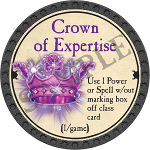 Crown of Expertise - 2018 (Onyx) - C25