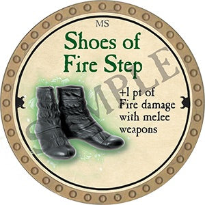 Shoes of Fire Step - 2018 (Gold)