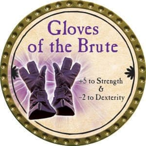 Gloves of the Brute - 2015 (Gold) - C21