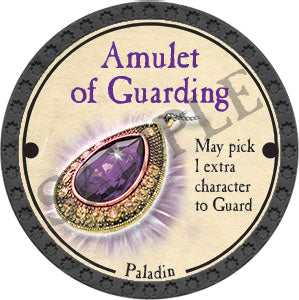 Amulet of Guarding - 2017 (Onyx) - C25