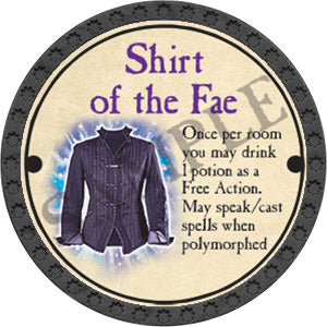 Shirt of the Fae - 2017 (Onyx) - C25