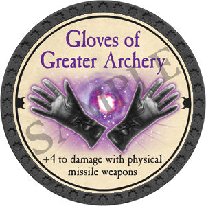 Gloves of Greater Archery - 2018 (Onyx) - C25
