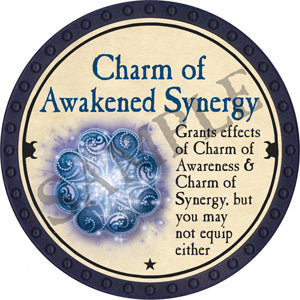 Charm of Awakened Synergy - 2018 (Blue) - C25