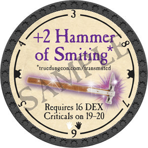 +2 Hammer of Smiting - 2018 (Onyx) - C25