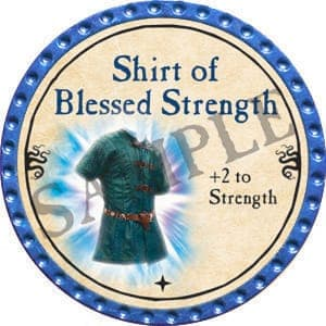 Shirt of Blessed Strength - 2016 (Light Blue) - C3