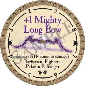 +1 Mighty Longbow - 2018 (Gold) - C25
