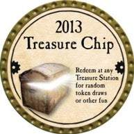 Treasure Chip - 2013 (Gold) - C26