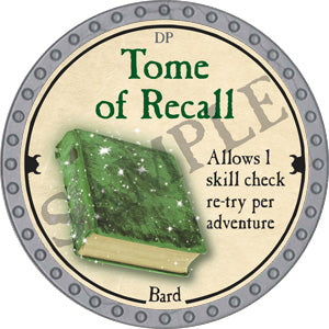 Tome of Recall - 2018 (Platinum)