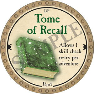 Tome of Recall - 2018 (Gold)