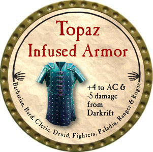 Topaz Infused Armor - 2012 (Gold)