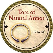Torc of Natural Armor - 2009 (Gold)
