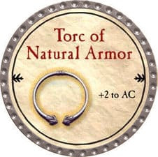 Torc of Natural Armor - 2009 (Platinum)