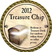 Treasure Chip - 2012 (Gold) - C26