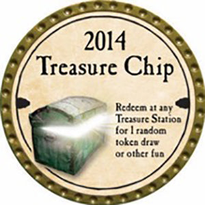 Treasure Chip - 2014 (Gold)