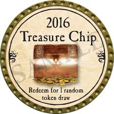 Treasure Chip - 2016 (Gold) - C1