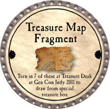 Treasure Map Fragment - 2011 (Platinum)
