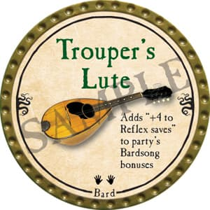 Trouper's Lute - 2016 (Gold)
