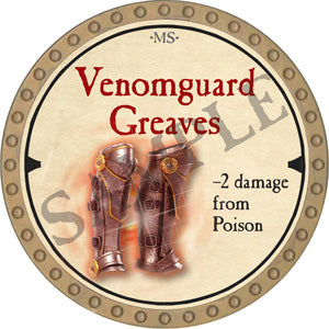 Venomguard Greaves - 2019 (Gold) - C22