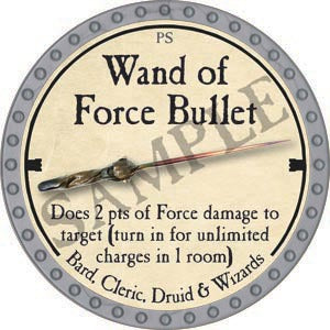 Wand of Force Bullet - 2020 (Platinum)