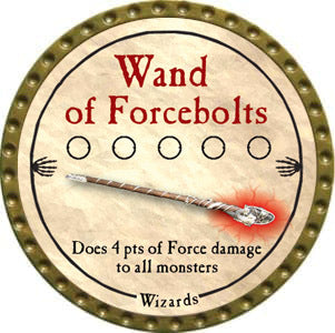 Wand of Forcebolts - 2012 (Gold) - C37
