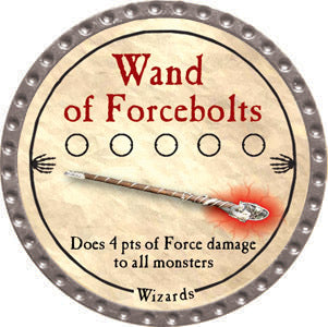 Wand of Forcebolts - 2012 (Platinum)