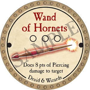 Wand of Hornets - 2017 (Gold) - C37