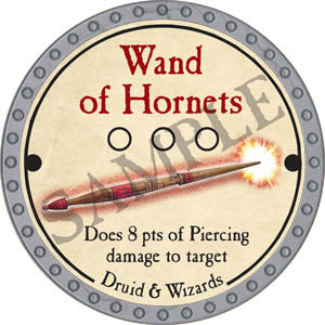Wand of Hornets - 2017 (Platinum)